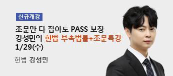 강성민 부속법률+조문특강