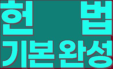 헌법 기본 완성